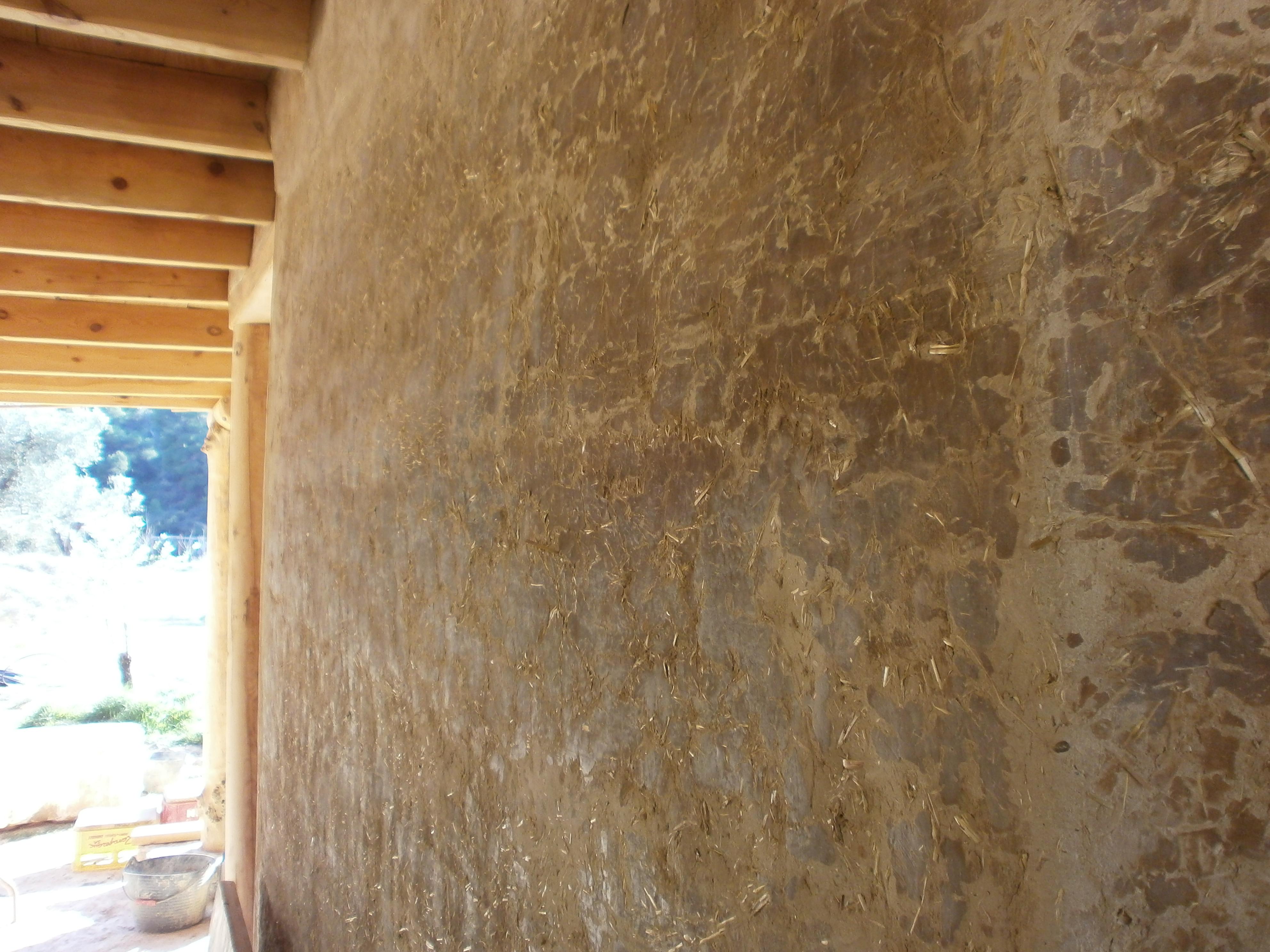 Eco construction d un bungalow terre paille pierre et for Pierre et bois construction