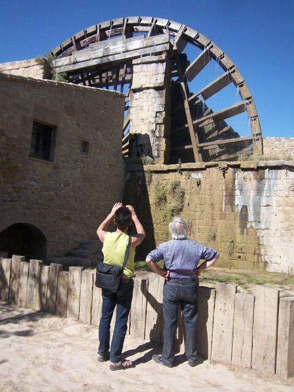 Une roue de 16m de diamètre