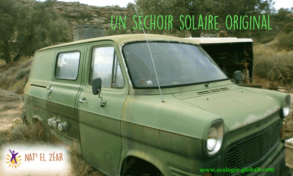 Un séchoir solaire original